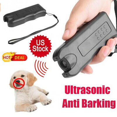 Dog Stop Barking Training Repeller Device Ultrasonic Anti-Bark Control Trainer Z
