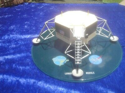 Vintage Grumman Nasa Apollo Lunar Lem Desk Model Contractor Moon Armstrong Buzz