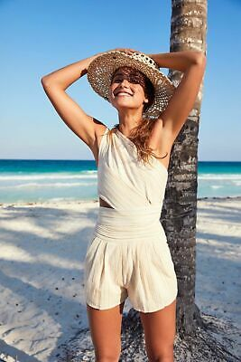 Free People Hot Chip Romper, $148 BRAND NEW, Size Small