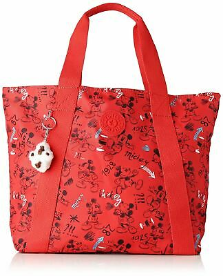 Kipling D Hye, Cabas femme, Multicolore (Sketch Red)