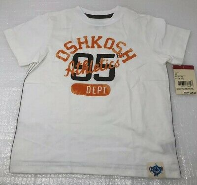 Oshkosh Boys Short Sleeve Graphic T-Shirt Size 3T New
