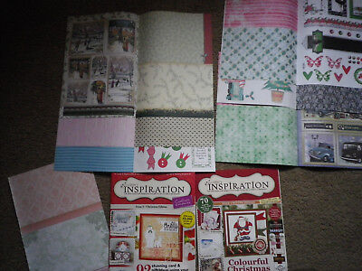 Crafters Companion Inspiration Christmas Pack (not complete see photos)