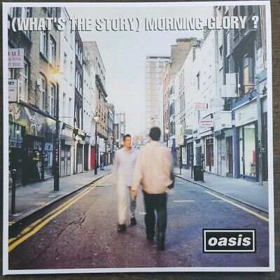 OASIS What's The Story Morning Glory Double Vinyl LP. Brand New.