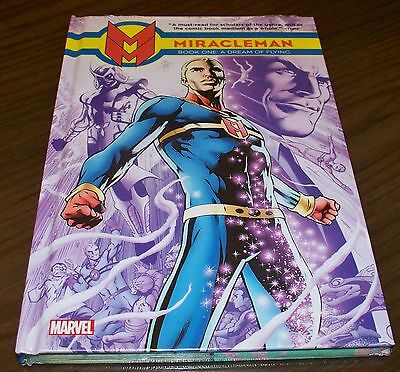 MIRACLEMAN vol 1 A DREAM OF FLYING HC originale Marvel USA blisterato Alan Moore