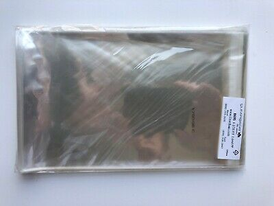 """Crystal Clear Bags (400 Pieces) [B69S] 6 3/16"""" x 9"""" + Flap,"""