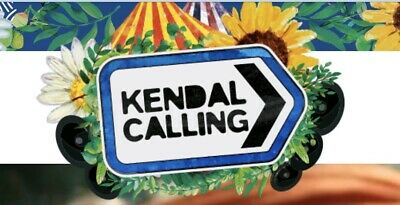Kendal Calling Thursday Tickets 2 x Adults And 2 x Child Age 6-10 Years.