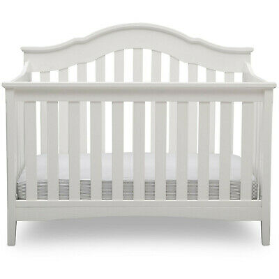 Delta Children Farmhouse 6-in-1 Convertible Crib New In Box NIB