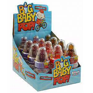 BAZOOKA CANDY BIG BABY POP (Pack of 12)