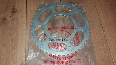 NOS HONDA CR 250 M ELSINORE 1973 - 1974 rear sprocket 47T 41213-357-020 CR250M
