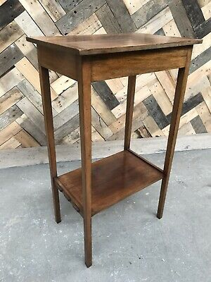 Vintage 2 Tier Occasional Side Table Pant Stand