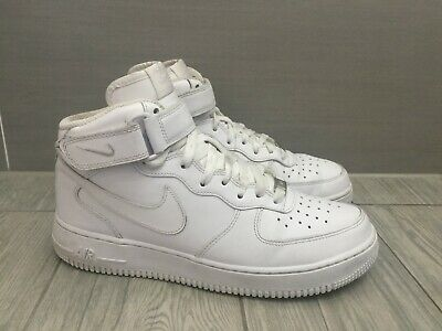 Details about RARE Nike Air Force 1 High Top Men's WhiteGreen US Size 9 (EUR 42.5)