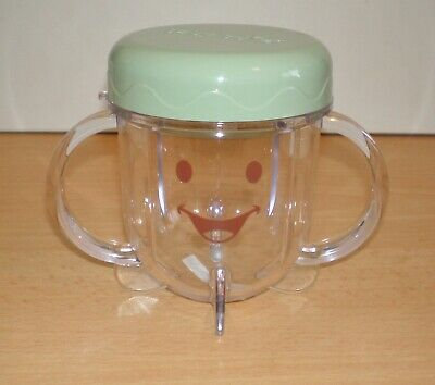 Magic Bullet Baby Bullet Short Cup with Lid Replacement