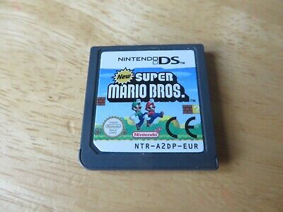 nintendo ds/ds lite/2ds/3ds game.new super mario bros.cart only.....