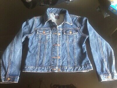 Girls Denim Jacket By Fluid Age 13 Years