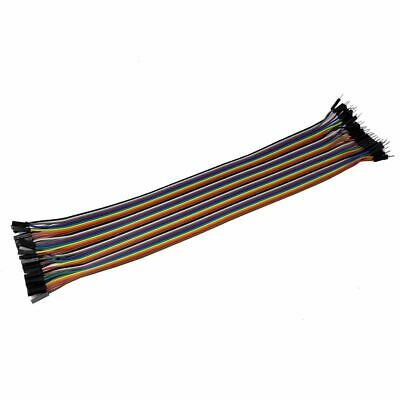 30CM 40 Pin Male/Female Jumer Wire Ribbon Cable Dupont 2.54