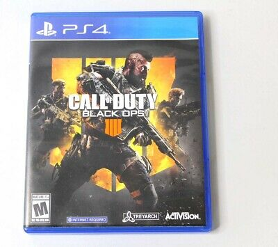 Call of Duty: Black Ops 4 (Playstation 4, 2018) *READ*