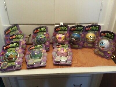 2016-2017 Lot Of 10 Madballs-Series 2 and 1- some duplicates-see listing details