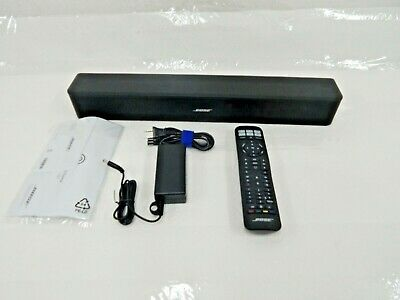 BOSE 418775 Solo 5 Sound Bar, TV Sound System, Bluetooth - Black