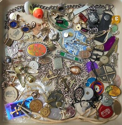 Junk Drawer Lot, odds & ends cuff links, wooden nickel, jewelry, chains, novelty