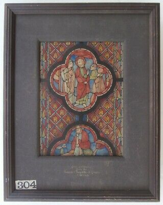 PAFA Philadelphia Sketch Club Artist Leicester Holland Stained Glass Painting