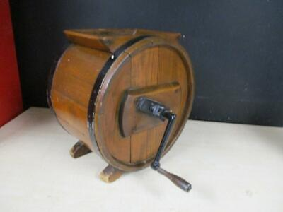 Antique Primitive Wood Butter Churn Farmhouse Country
