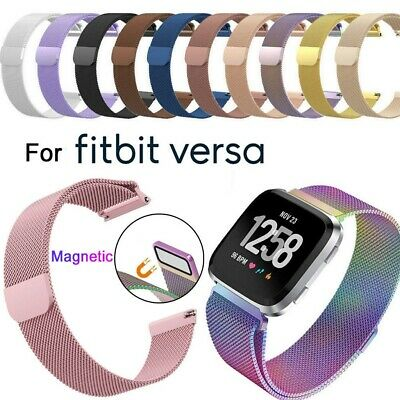 Stainless Steel Magnetic Milanese band For Fitbit Versa 2/Versa/Versa Lite/SE