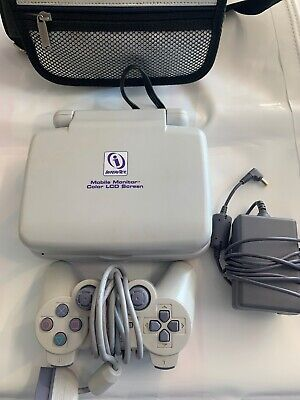 Sony Playstation PSOne Ps1 Slim With LCD Screen (SCPH-101) Bundle