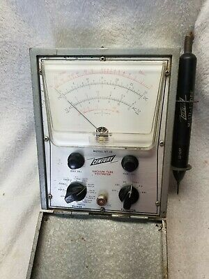 Rare Vintage Century VT-10 Vacuum Tube Voltmeter Tester in Good Physical Cond.