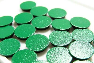Arcade1Up Screw Hole Caps/Covers 40 Covers Removable GREEN