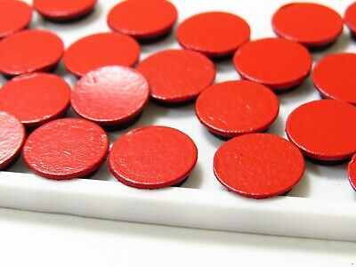 Arcade1Up Screw Hole Caps/Covers 40 Covers Removable RED