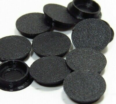 Arcade1Up Screw Hole Caps/Covers 40 Covers Removable BLACK