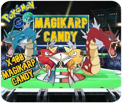Pokemon Go 400x Candy Farm Hunt Magikarp Candies for your Mew Quest or Gyarados!