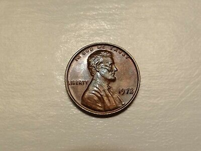 1972/72 Double Die Obverse DDO 1C Lincoln Cent Error Strong Doubling