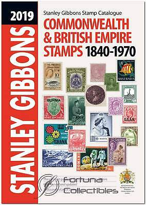 2019 Commonwealth & British Empire Stamp Catalogue 1840-1970 - Stanley Gibbons