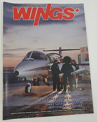 Wings Aviation Magazine Back Issue February / March 1998 1997 Year in Review