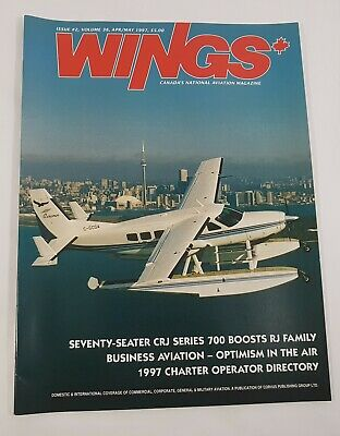 Wings Aviation Magazine Back Issue April / May 1997 Business Aviation