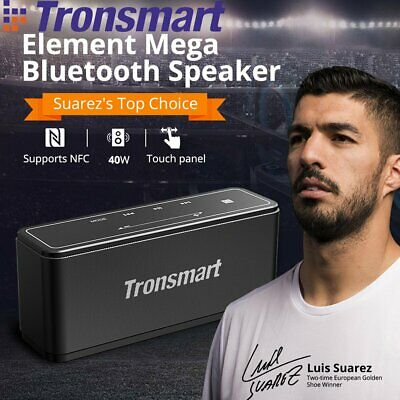 40W Tronsmart Element Mega bluetooth Speaker NFC Touch Panel 3D Bass Subwoofer