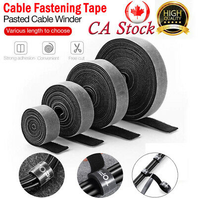Cable Organizer Wire Winder Fastening Tape For Mouse Earphone Cable Management