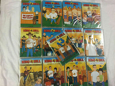 King of the Hill The Complete Series DVD 37-Disc Set Season 1-13 NEW SHIPS FAST