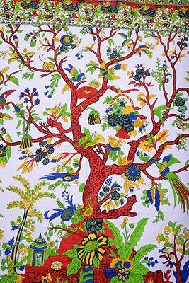 Large Tree Of Life Tapestry Indian Queen Wall Hanging Boho Hippie Tapestries
