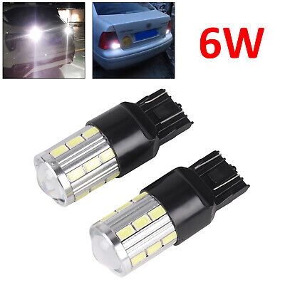 2×T20 7443 580 582 LED Sidelight DRL Bulbs For Vauxhall Insignia CORSA D ASTRA