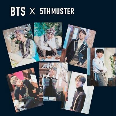 Kpop BTS 5TH MUSTER Official Poster Bangtan Boys Photo Poster Hanging Painting