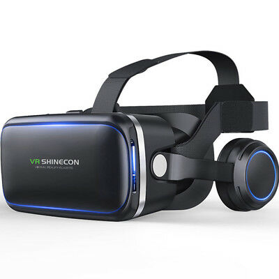 3D IMAX Video VR Glasses Virtual 2.0 Goggles Reality Headset For Smartphone EO