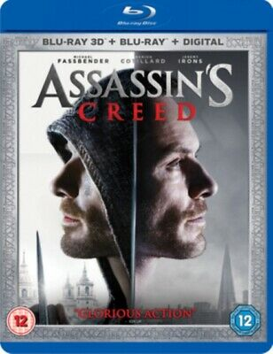 Assassin's Creed 3D (BLU-RAY 2 DISC, 2016) *NEW/SEALED* 5039036079501, FREE P&P