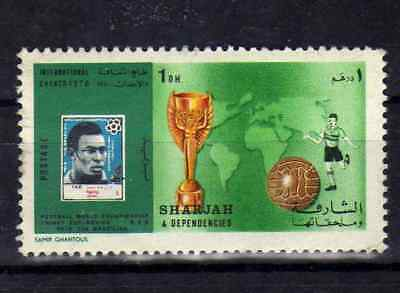 SHARJAH 1970 N°645A Football World Cup