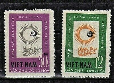 VIETNAM 1964 1965  n°296/297 International Quiet Sun Years