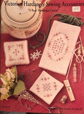 Leisure Arts Book 25 - Victorian Hardanger Sewing Accessories