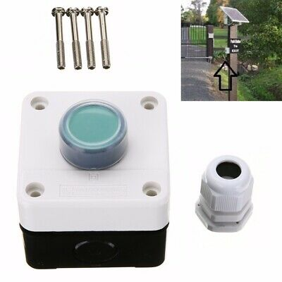 One Button Control Box for Gate Opener Weatherproof Push Button Switch UK Store