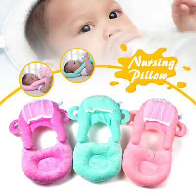 Newborn Baby Nursing U-Shap Pillow Cushion Kid Child Milk Bottle Self