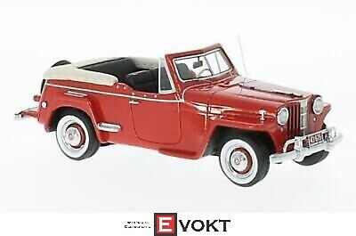 WILLYS JEEPSTER 1948 cabriolet 1/43 Scale NEO 467065 resin